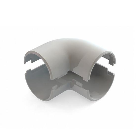 Угол 90 град. соединительный РУВИНИЛ У01216 16 мм Разъёмный (60 штук в упаковке)