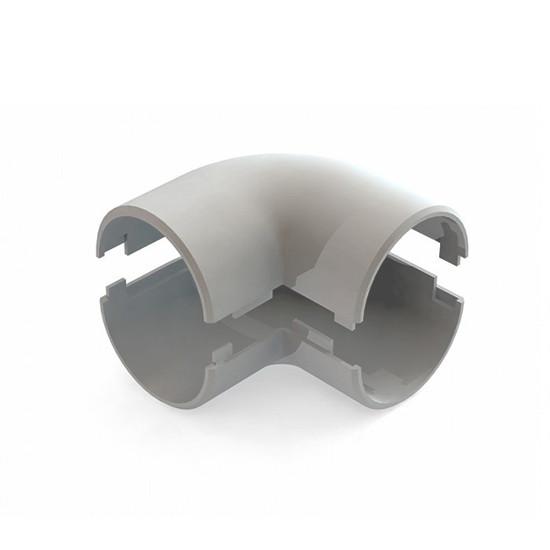 Угол 90 град. соединительный РУВИНИЛ У01220 20 мм Разъёмный (48 штук в упаковке)