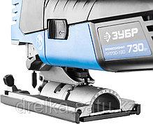 Электролобзик ЗУБР Л-П730-120, ПРОФЕССИОНАЛ, 3-х позиционный маятниковый ход, рукоятка грибок, 600-2900 ходов, фото 3