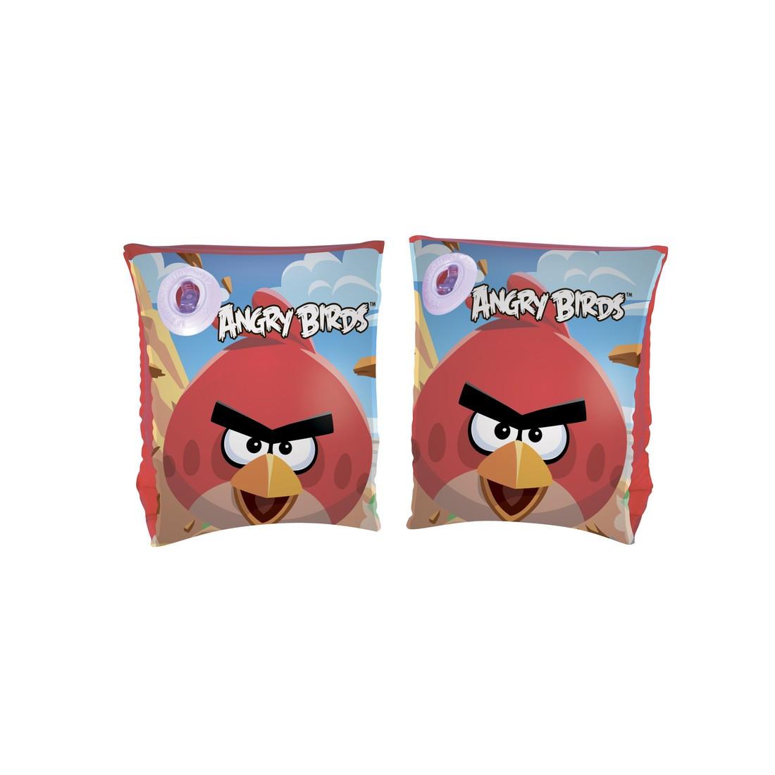 Нарукавники для плавания Angry Birds 25 x 15 см BESTWAY 96100 Винил Красный Цветная коробка