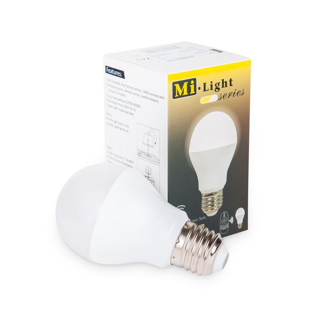 Светодиодная лампа Milight FUT017 WIFI 6Вт 2700-6500K