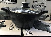 Казан с каменным покрытием VICALINA (диаметр 32см/10,4л)