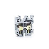Клемма проходная Deluxe JXB 4/35 4 мм2 серая (50 шт. в упак.)