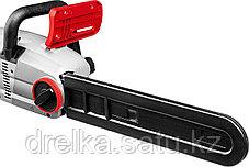 Пила цепная ЗУБР ЗЦП-2000-02, защита руки (тормоз цепи), масляный бачок, смена цепи без ключа, шина 40 см., фото 3