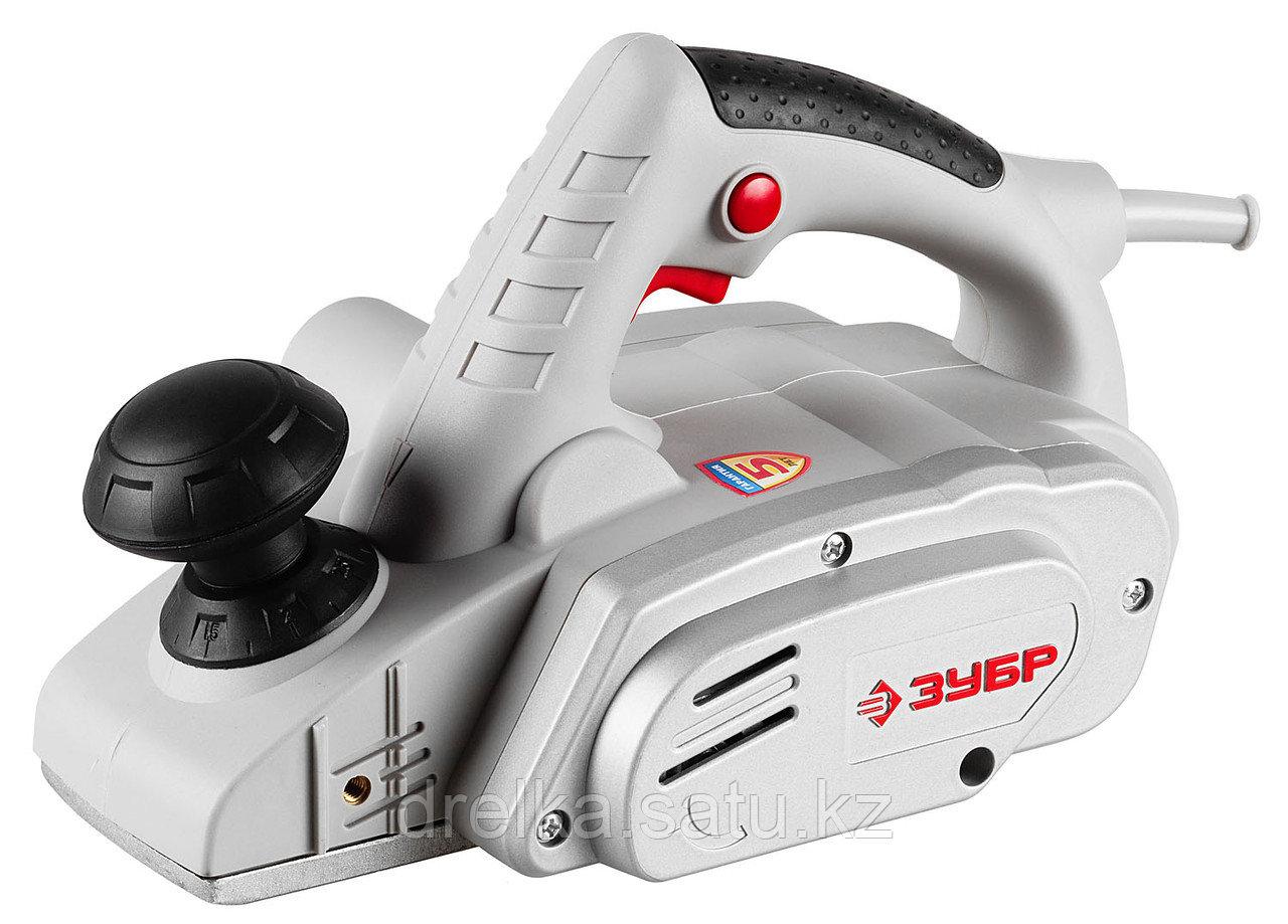 Электрорубанок ЗУБР ЗР-950-82, глубина 3 мм, 16000 об/мин, 82 мм, 950 Вт.