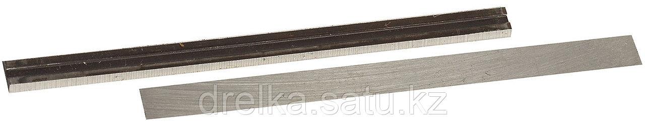 Нож для электрорубанка ЗУБР ЗРЛ-82, 82 мм, 2 шт.