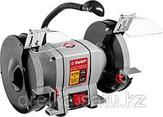 Станок точильный ЗУБР ЗТШМ-175-370, МАСТЕР, двойной, диск 175 х 20 х 32 мм, лампа подсветки, 370 Вт.
