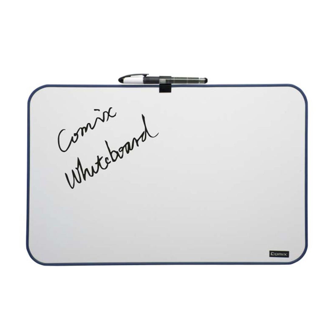 Доска магнитно-маркерная А4 Comix BOA4 для размещения информации Белая