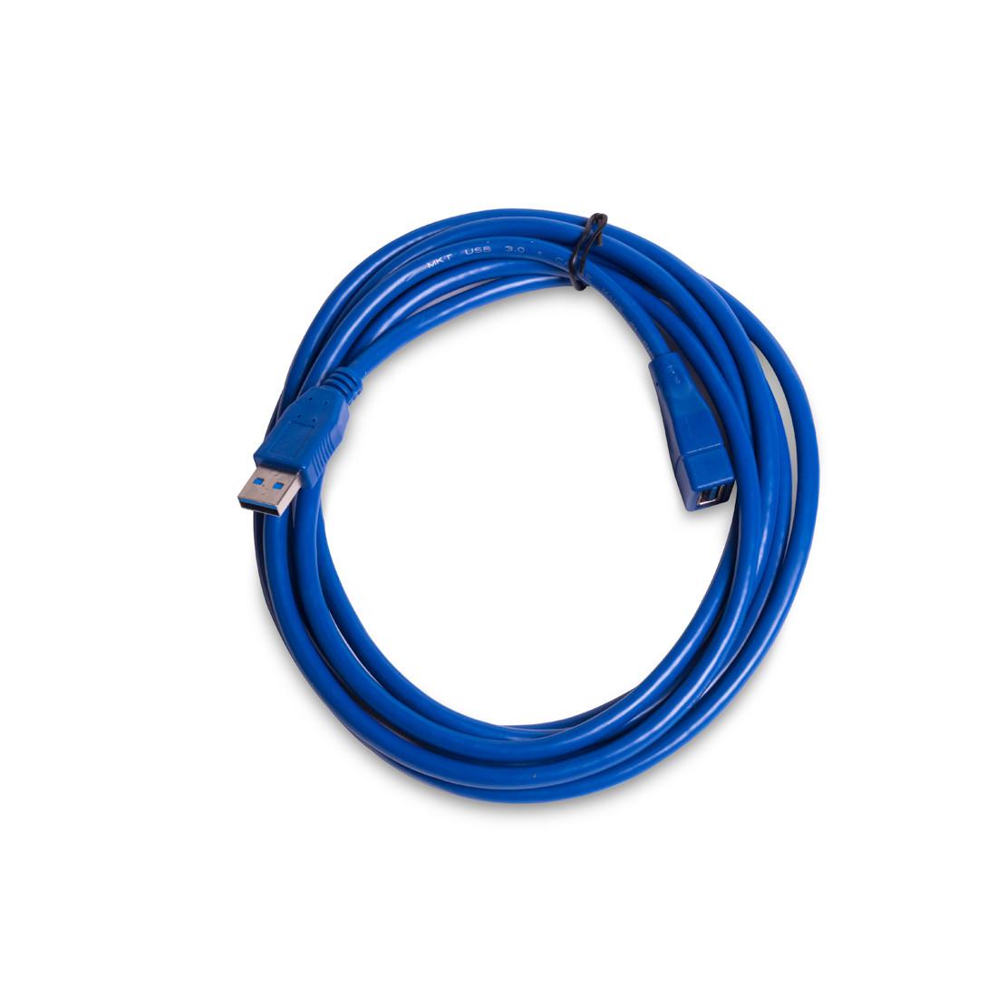 Удлинитель iPower iPEAMF3 USB AM-AF 3 м. Hi-Speed USB 3.0  Синий