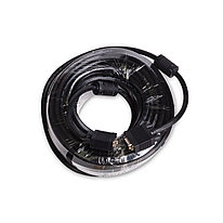 Интерфейсный кабель iPower iPiVGAMM200 VGA 15M/15M 20 м. Чёрный