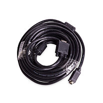 Интерфейсный кабель iPower iPiVGAMM100 VGA 15M/15M 10 м. Чёрный