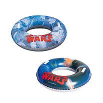 Круг для плавания Star Wars 91 см BESTWAY 91203 Винил C ручками Цвет в ассортименте Цветная коробка