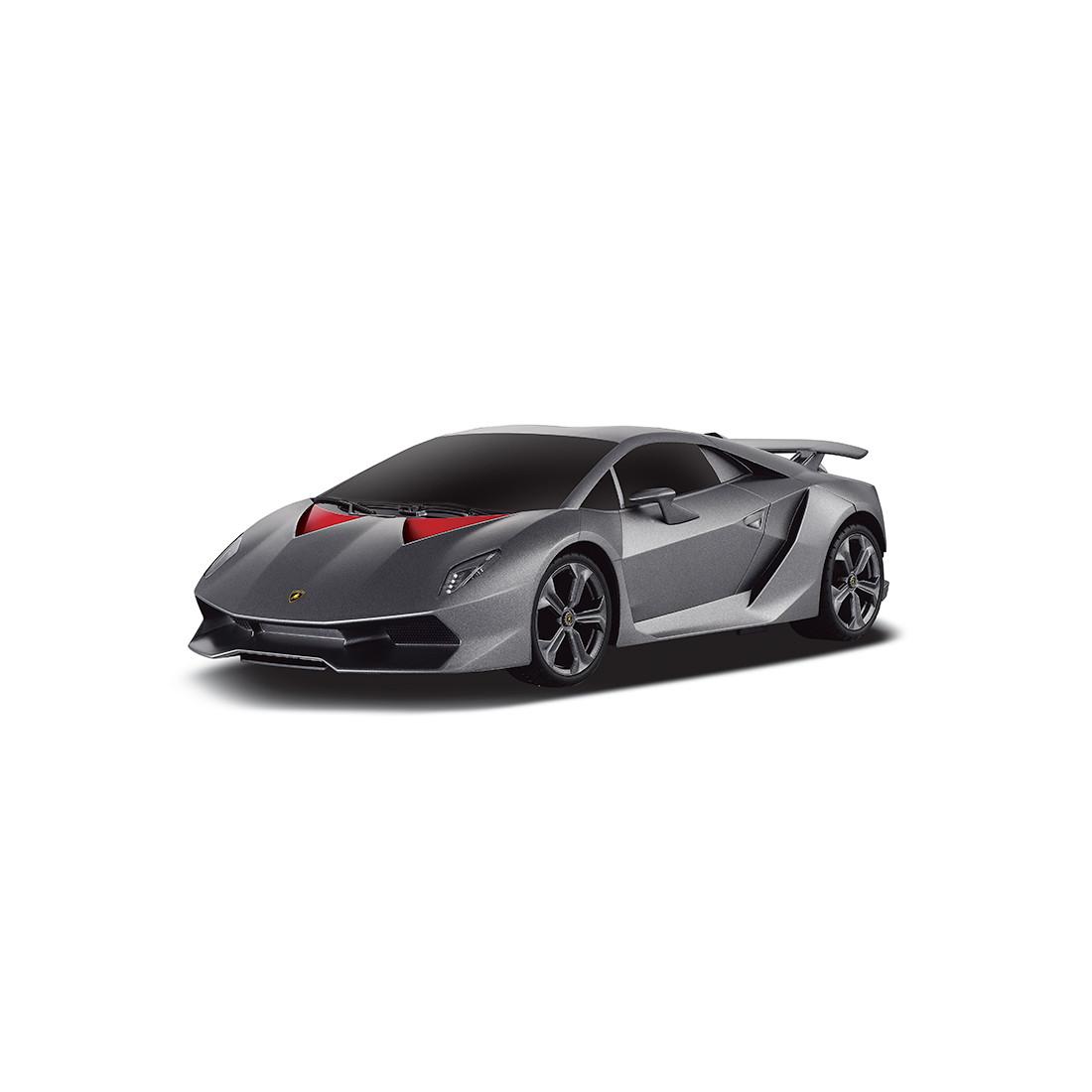 Радиоуправляемая машина RASTAR 53700-10G 1:18 Lamborghini Sesto Elemento  С пультом управления в виде руля
