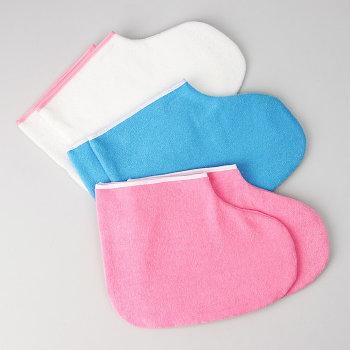 Носочки для парафинотерапии,белые