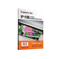 Плёнка для ламинирования А3 COMIX M3080 80мкм 100шт.