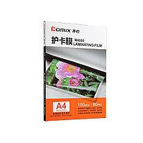 Плёнка для ламинирования А4 COMIX M4080 80мкм 100шт.