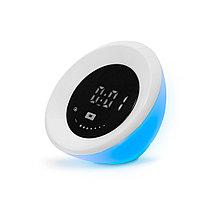 Светильник многофункциональный Deluxe Eclipse 4W Часы-будильник RGB подсветка Димминг 7 уровней Сенсорное