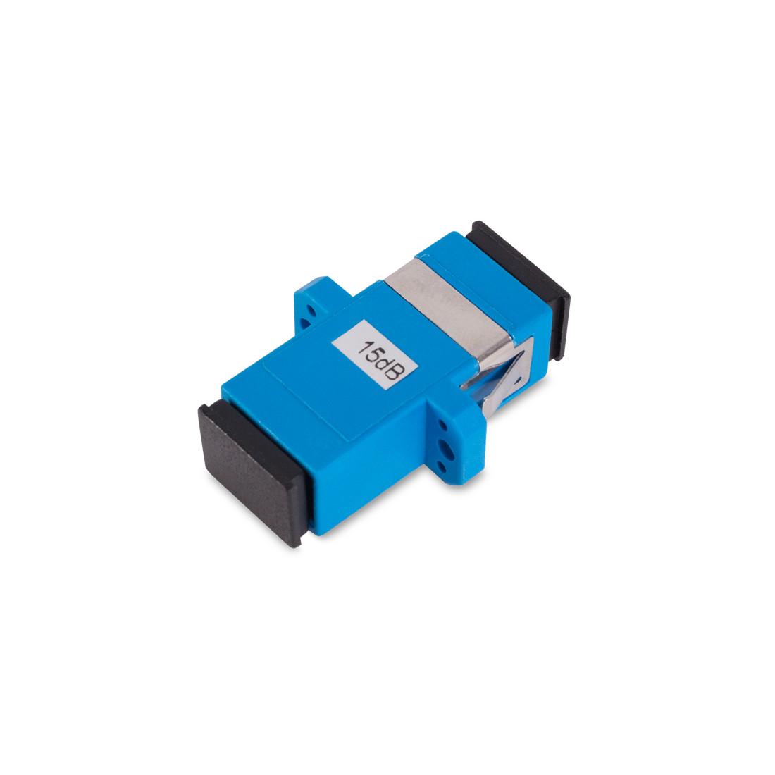 Оптический фиксированный аттенюатор А-Оптик SC/UPC SM 15дБ