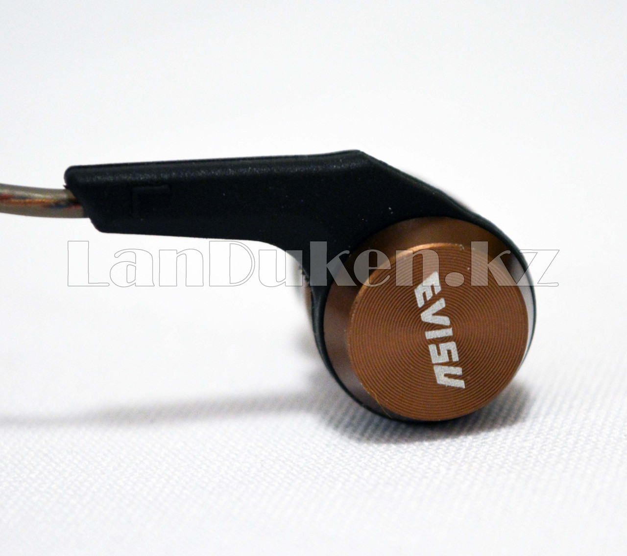 Спортивные Блютуз наушники Evisu W12 sports wireless earphones c магнитным креплением бронзовые - фото 2