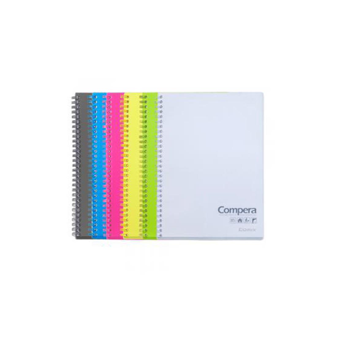 Блокнот А5 Comix CPA5801 80 л.   Красный