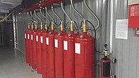Монтаж газового пожаротушения