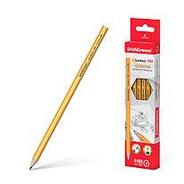 Чернографитный шестигранный карандаш ErichKrause® 45598 Amber 100 HB (упак./12 шт.) жёлтый