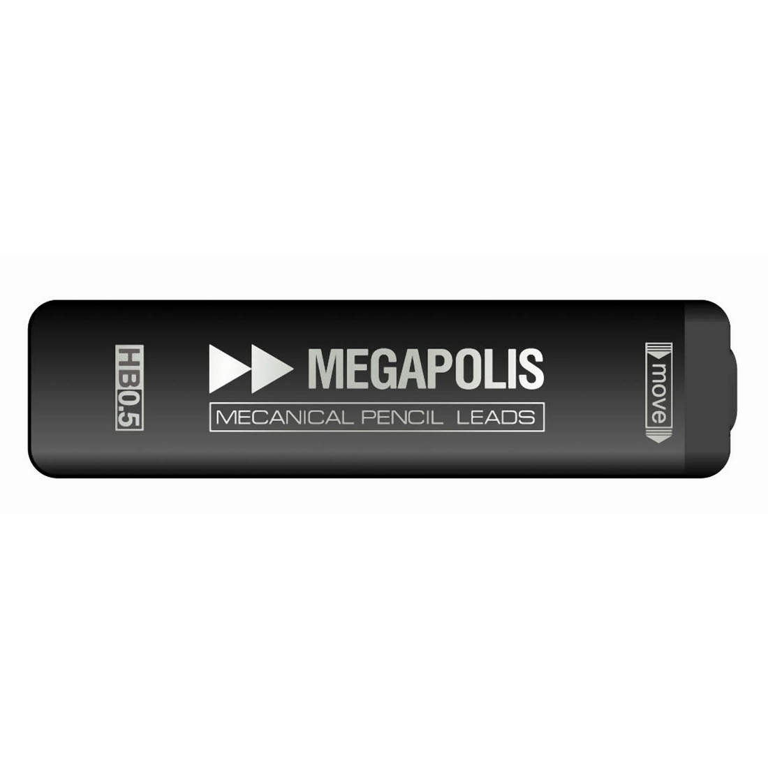 Грифели ErichKrause® 20345 MEGAPOLIS® Concept для механических карандашей 0.5мм (в футляре по 20 шт.)
