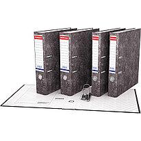 Папка–регистратор с арочным механизмом ErichKrause® 71 Basic А4 70 мм серый