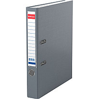 Папка–регистратор с арочным механизмом ErichKrause® 43515 Granite А4 50 мм серый