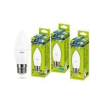 Эл. лампа светодиодная Ergolux LED-C35-9W-E27-6K Свеча Дневной