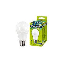 Эл. лампа светодиодная Ergolux LED-A60-10W-E27-6K ЛОН Дневной