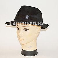 Шляпа трилби на вечеринку атласная (маленькая)