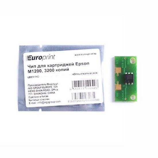 Чип Europrint Для картриджей Epson M1200 3200 страниц.