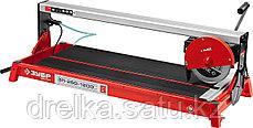 Плиткорез электрический ЗУБР ЭП-250-1200С, МАСТЕР, длина реза 1020 мм, диск 250 мм., 1200 Вт., фото 2