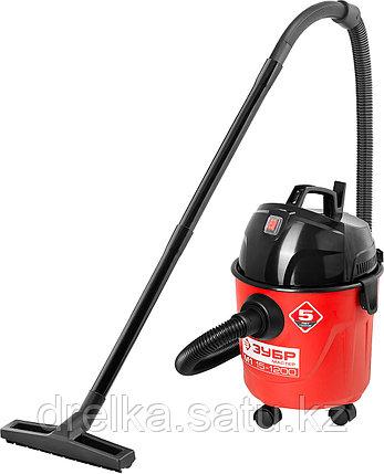 Пылесос хозяйственный ЗУБР ПУ-15-1200 М1, МАСТЕР, модель М1-15, 15 л, 1200 Вт, сухая и влажная уборка , фото 2