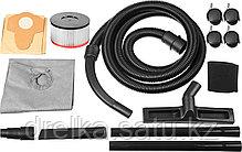 Пылесос хозяйственный ЗУБР ПУ-15-1200 М1, МАСТЕР, модель М1-15, 15 л, 1200 Вт, сухая и влажная уборка , фото 3