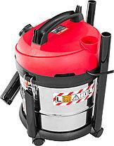 Строительный пылесос ЗУБР ПУ-20-1400 М3, МАСТЕР, модель М3-20, 20 л, 1400 Вт, сухая и влажная уборка, фото 2