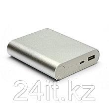 Универсальная мобильная батарея PowerPlant/PB-LA9113/10400mAh/универсальный кабель