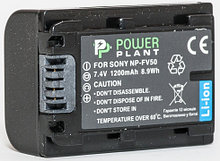 Aккумулятор PowerPlant Sony NP-FV50 1200mAh