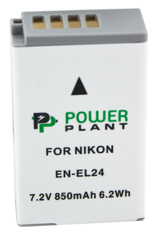 Аккумулятор PowerPlant Nikon EN-EL24 850mAh