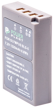 Аккумулятор PowerPlant Olympus PS-BLS5 1220mAh