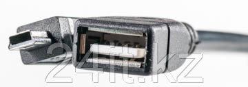 Кабель PowerPlant OTG USB 2.0 AF - Mini, 0.5м
