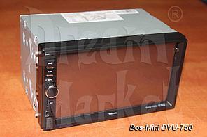 Автомагнитола Bos-Mini DVU-750, 2DIN, USB, AUX, MP3, Bluetooth, камера в подарок