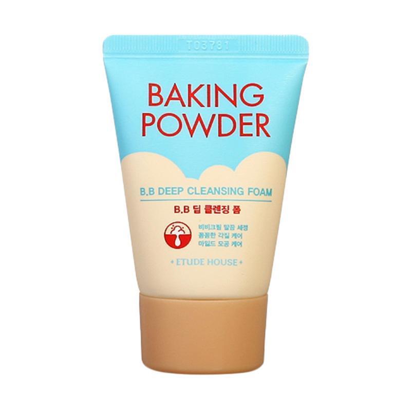 Etude House Очищающая пенка для снятия ББ-крема с содой Baking Powder BB Deep Cleansing Foam / 30 мл.