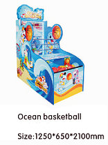 Игровой автомат - Ocean basketball