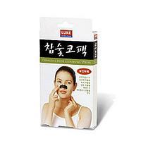 Luke Charcoal nose cleansing strips- Очищающие полоски для носа