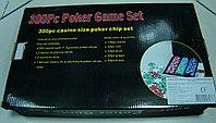 Покерный набор 300 фишек в алюминиевом кейсе, фото 1