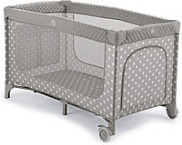 Манеж-кровать Happy Baby Martin Stone (цвет серый белый)