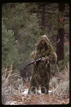 Маскировочный костюм Rothco Bushrag Ultralight Woodland Camo, Цвет: Лиственный лес, Размер: M/L, (65127)