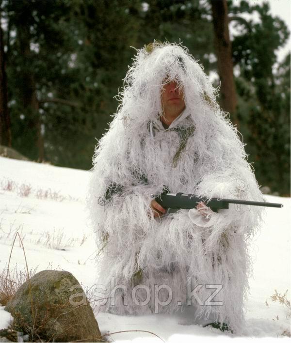 Маскировочный костюм Rothco Bushrag Ultralight Snow Camo, Цвет: Зима, Размер: XL/2XL, (651301)